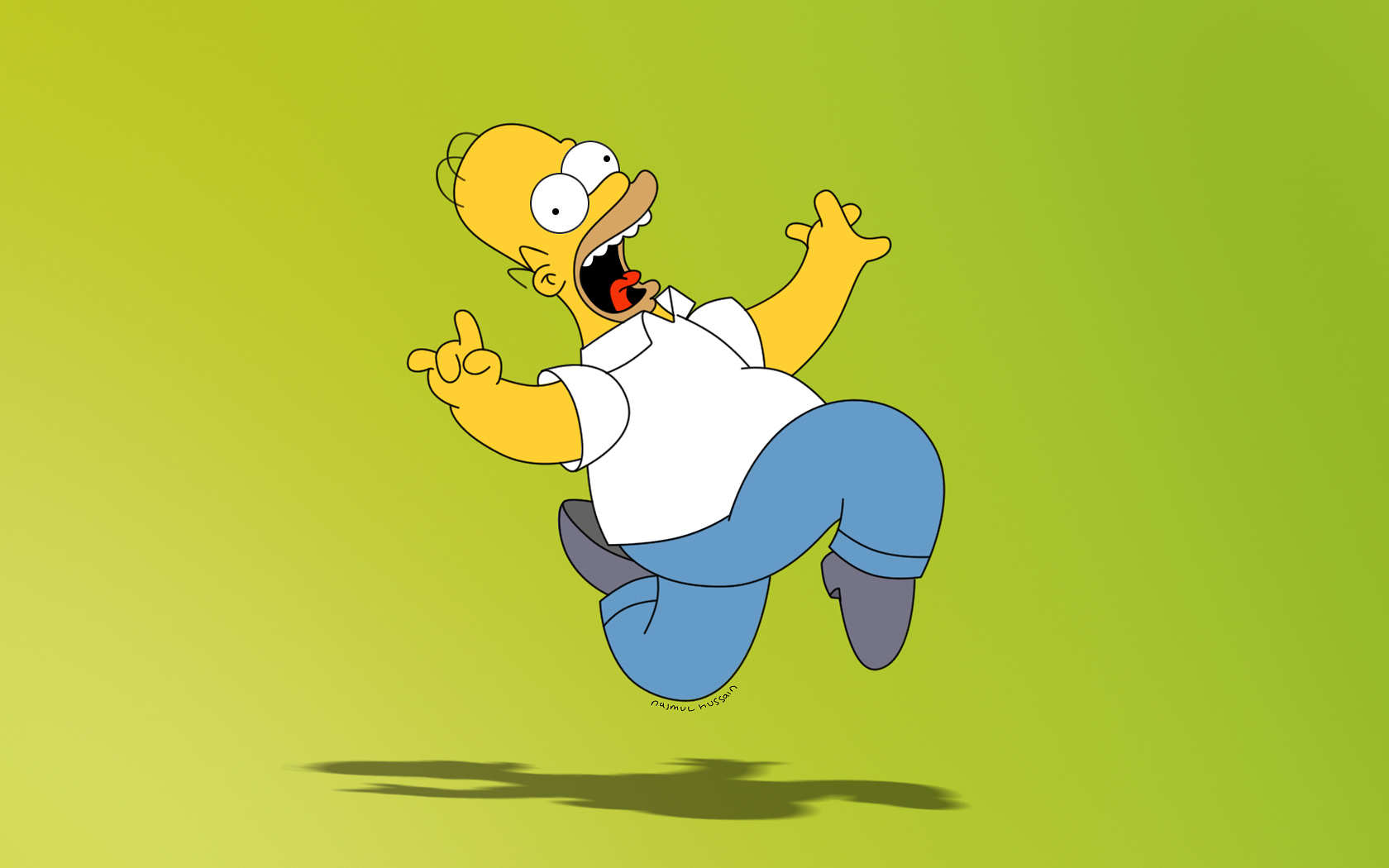 Homers Web Page Wallpapers